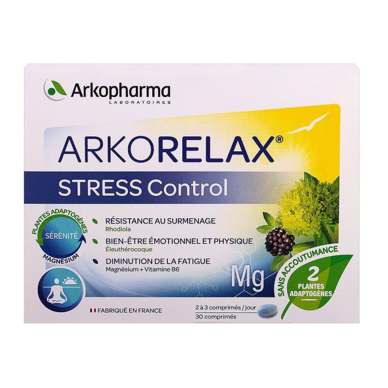 Arkorelax Stress Control Cpr 3