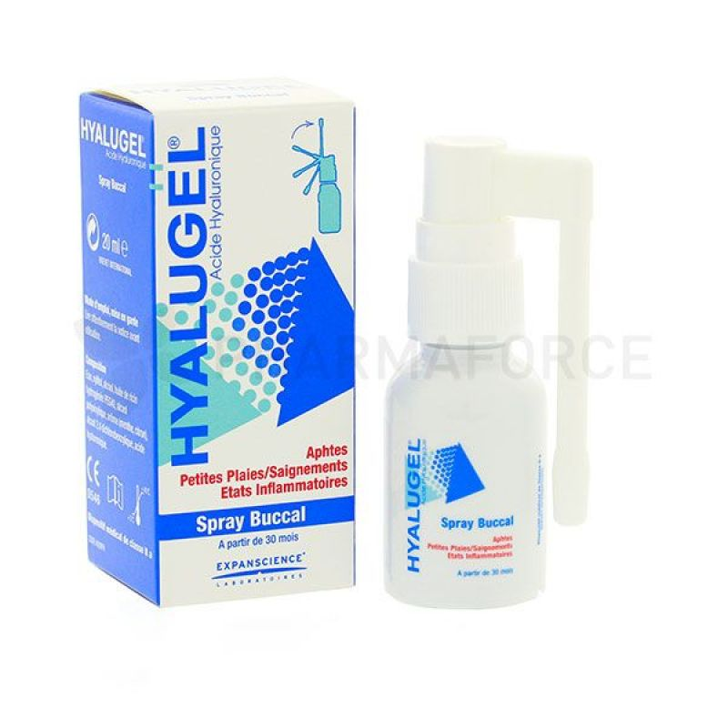 Hyalugel Spray Flacon 20ml