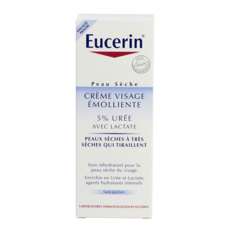 Eucerin Cr Visage 5% D Uree Ps