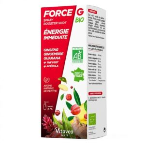 Force G Booster Bio Spray Fl 15ml