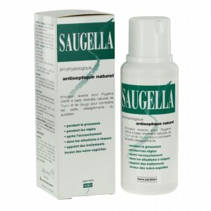 Saugella émulsion lavante intime Antiseptique naturel 250ml