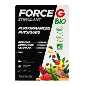 Force G Stimulant Bio Amp 20
