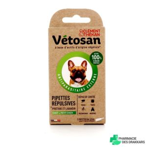 Vetosan Repulsif Chiot/petit Chien Pipettes