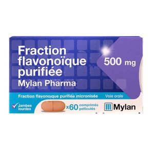 Fraction Flavonoiq 500mg Mylan cp
