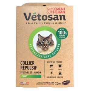 Vetosan Collier Repulsif Chat