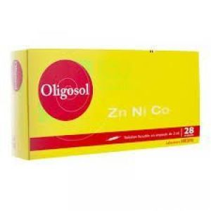 Oligosol Zn-ni-co Amp 2ml 28
