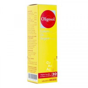 Oligosols Cu Or Ag Fl 60ml