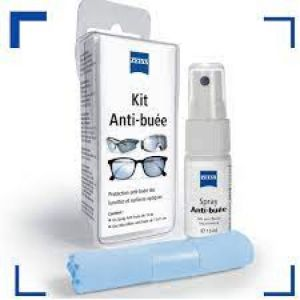 Zeiss Kit Anti buée Spray 15ml+ microfibre