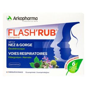 Flash'rub Arko Nez/gorge Cpr 1