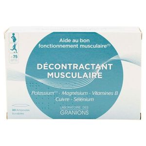Granion Decontrac Musc Amp2ml 30 ampoules