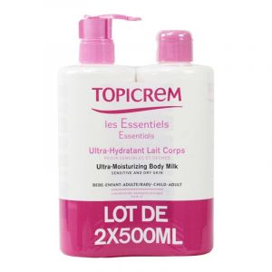 Topicrem Ultra /hydratant Lait Corps 2* 500ml
