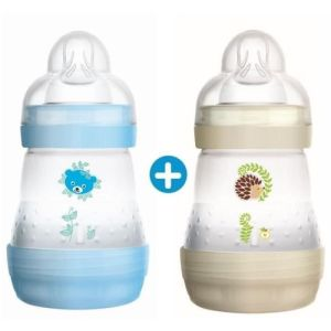 Bib Mam Easy start A/colique Décor Duo 160 ml