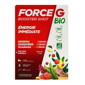 Force G Booster Shot Bio Ampoules 20