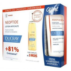 Ducray Neoptide Femme lotion anti chute 3x30ml+ Shampoing anaphase offert 100ml