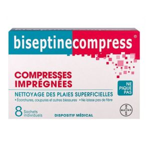 Biseptine compresses Bt 8