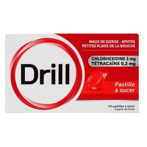 Drill Past 24 Tétracaine
