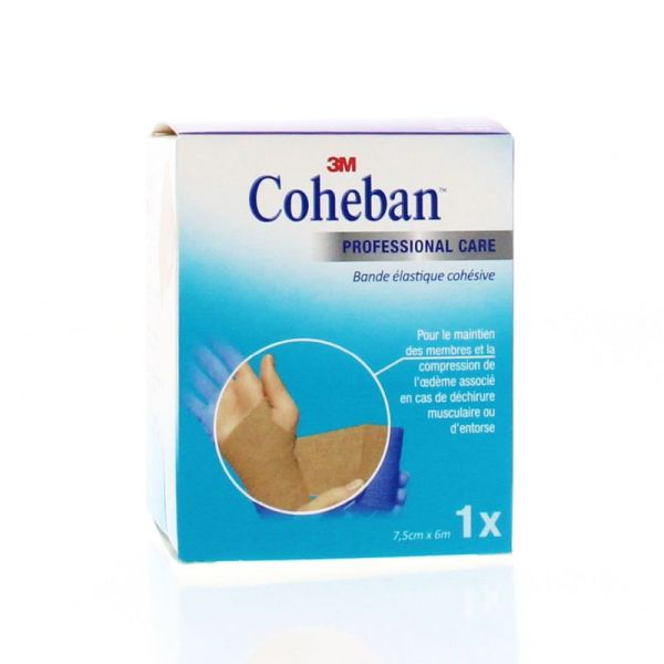 Coheban Chair Bande de contention élastique 3mx 7cm       T