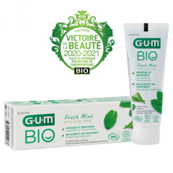 Gum Dentifrice Bio Gel Tube 75ml