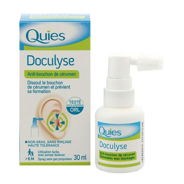 Doculyse Sol Fl Pulv 30ml