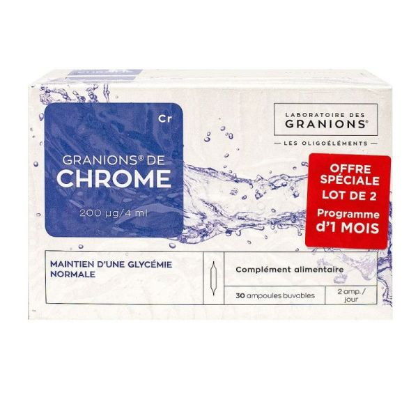 Granions De Chrome 200  Duo 2x